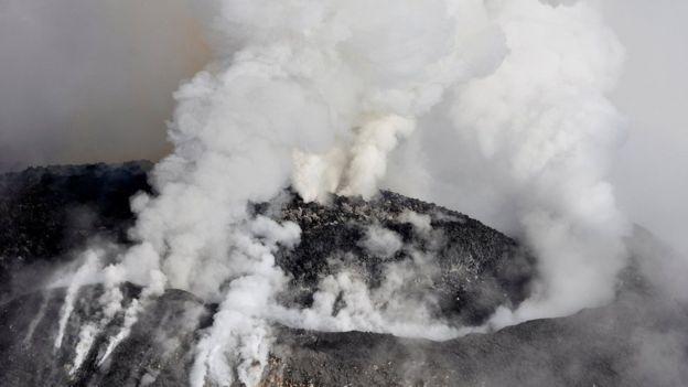 मेक्सिकोमा ज्वालामुखी विष्फोट