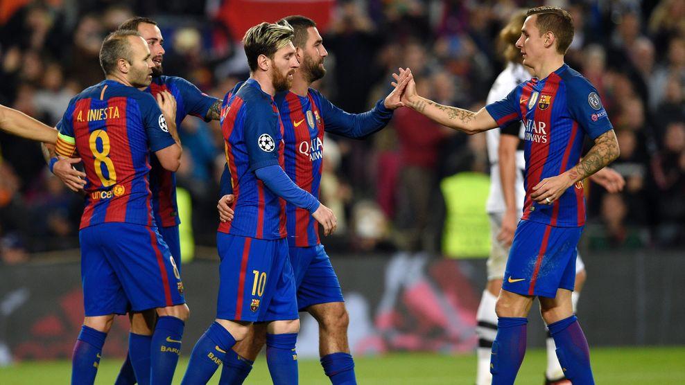 १० खेलाडीमा सीमित बार्सिलोनाको रेकर्ड संख्या बढ्दै