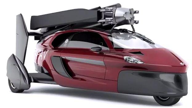 बन्यो उड्ने कार, हावामा १ सय ७७ किलोमिटरप्रति घण्टाको गतिमा उड्ने