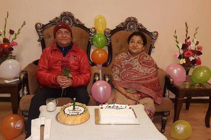 यसरी मनाए प्रधानमन्त्री अाेलीले जन्मदिन, काे-काे पुगे शुभकामना दिन ? (फाेटाेफिचर)