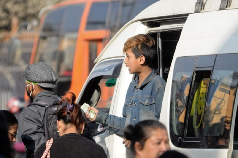 सरकारद्वारा बालश्रम मुक्त यातायात अभियान शुरु
