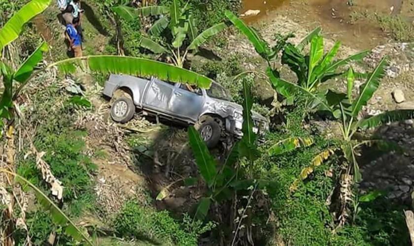 मेयर चढेको गाडी दुर्घटना, कुमको जोर्नी नै भाँचियो