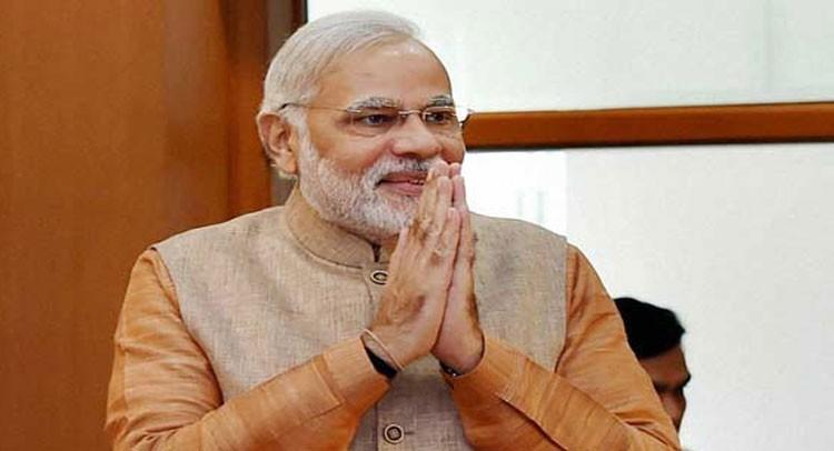 भारतीय प्रधानमन्त्री मोदी युरोप भ्रमणमा