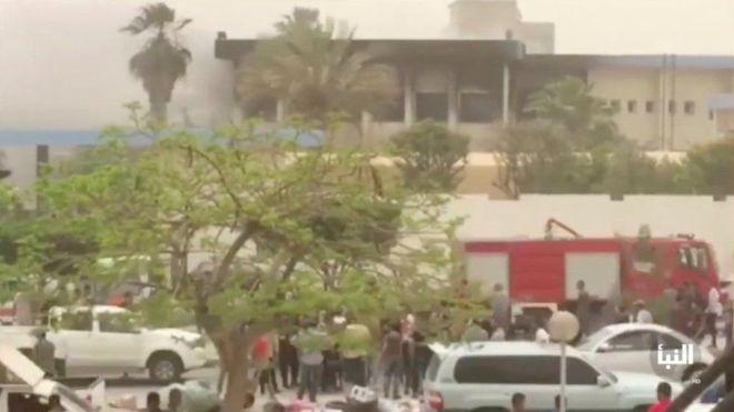 लिबियाको निर्वाचन कार्यालयमा आक्रमण, १४ जनाको मृत्यु