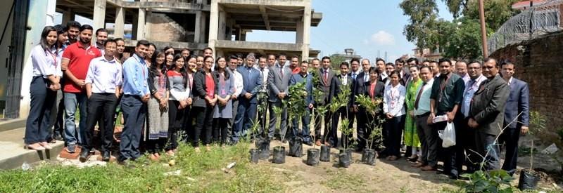 एनआईसी एशियाद्धारा बिरुवा बृक्षारोपण