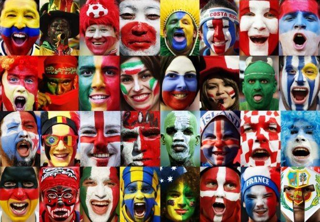 विश्वकप २०१८ :  खेलाडी भन्दा खेलाडीका फ्यानबीच प्रतिस्पर्धा