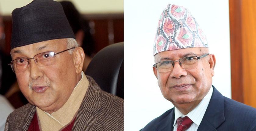 ओली–नेपाल खटपट
