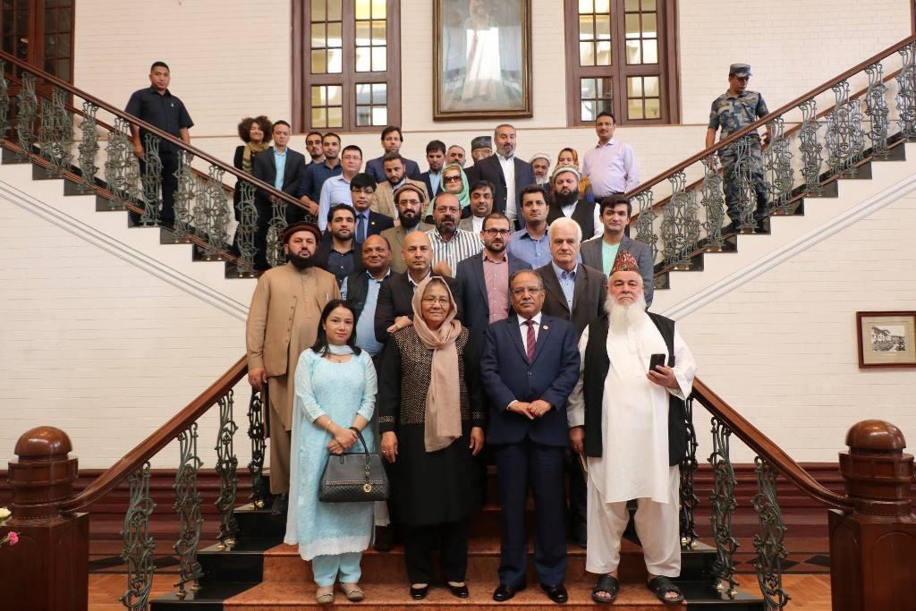 प्रचण्ड–अफगानी टोली भेट, नेपाली मोडल सिक्न आतुर रहेको प्रतिक्रिया