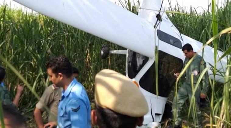 भारतीय सैनिक विमान दुर्घटनाग्रस्त