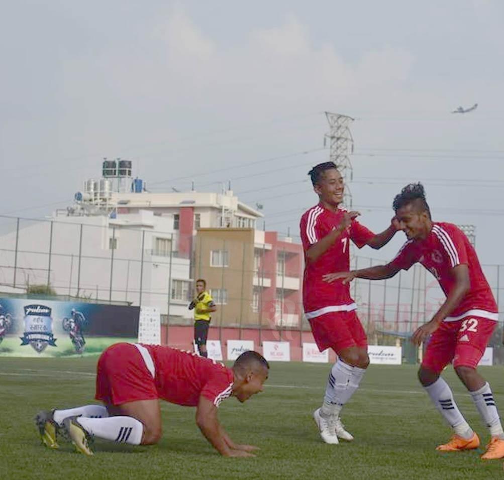 ए डिभिजन लिगः नेपाल पुलिस क्लब विजयी