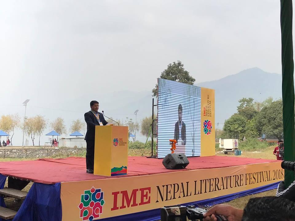 'जहाँ शब्दहरू जीवन्त   हुन्छन्' भन्ने मूल नाराका साथ सुरु भयो नेपाल लिट्रेचर फेस्टिभल