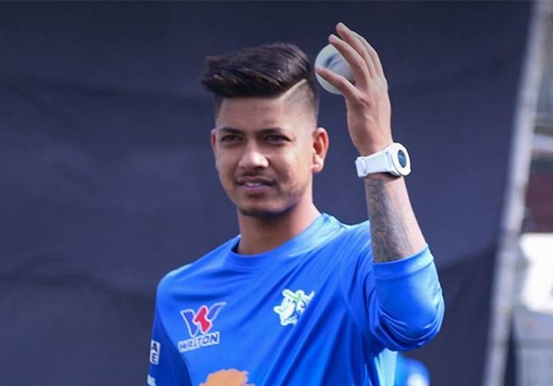 बीपीएलमा समेत चम्किए सन्दीप, डेब्यु खेलमै २ विकेट