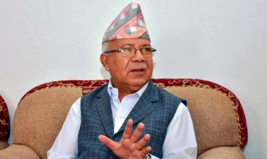 पार्टी एकतामा आघात पुग्नसक्ने काम कसैले नगरौं - माधवकुमार नेपाल