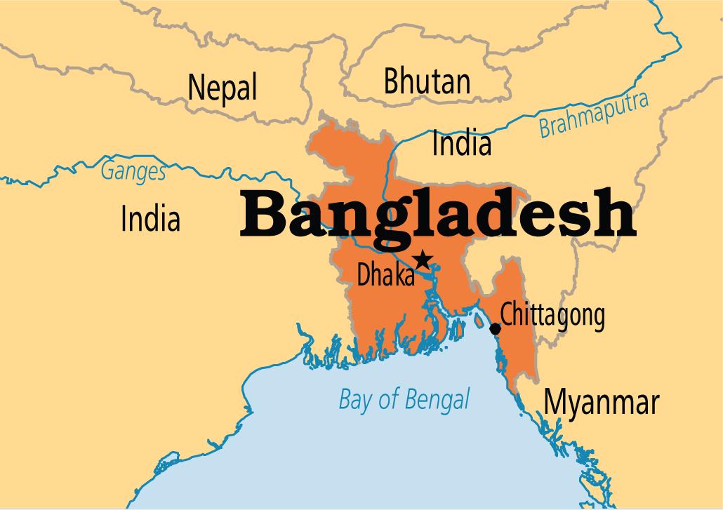बङ्गलादेशमा थप १७ सय कोभिड–१९ सङ्क्रमित, ४३ जनाको मृत्यु