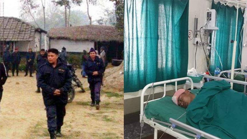 बारामा प्रहरी र तस्कर विच झडप, १४ वर्षिय बालकको टाउकोमा गोली