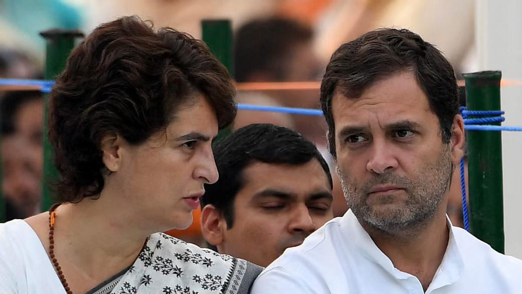 राहुल र प्रियंका गान्धी गिरफ्तार, राहुलको प्रश्नः यो देशमा मोदी बाहेक कोही हिड्न नपाउने हो ?