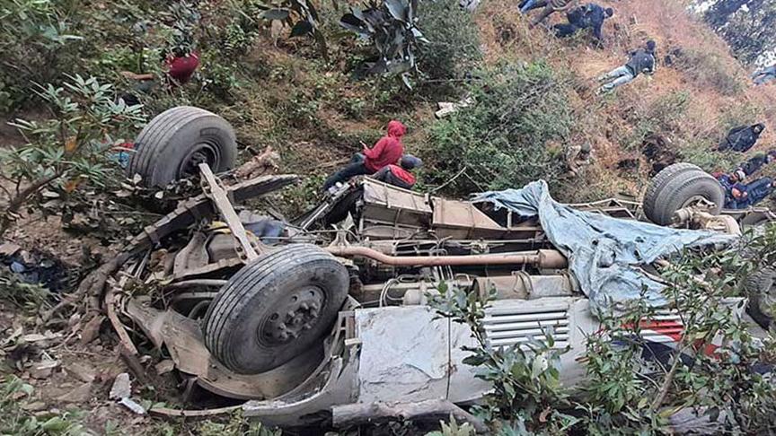 गुल्मीमा जिप दुर्घट्ना हुदा पाँचको मृत्यु