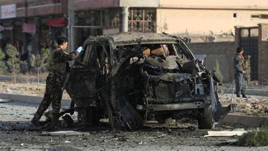 अफगानिस्तानमा आत्मघाती आक्रमणमा परी २६ सुरक्षाकर्मीको मृत्यु