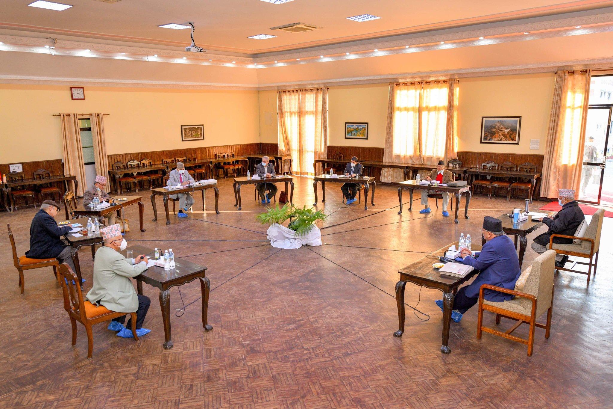 नेकपा सचिवालय बैठक सुरु, ओली किन अनुपस्थित ?