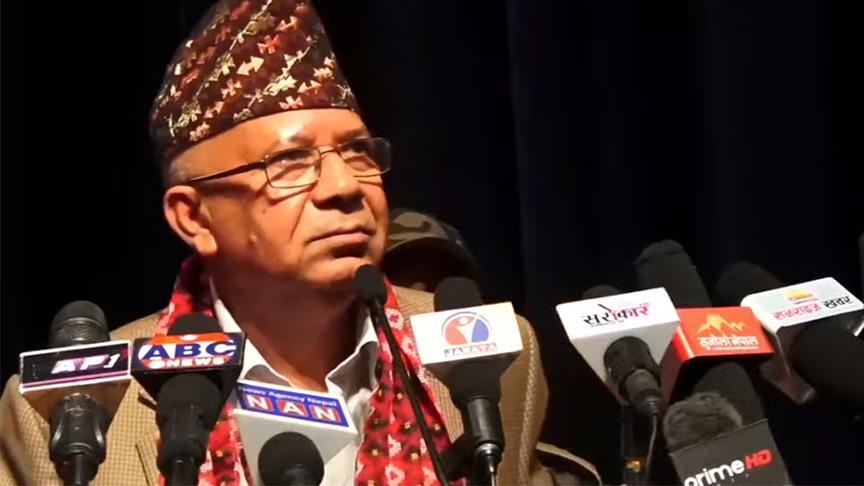 नेता नेपाल भन्छन्– ओली नेतृत्वको पार्टी 'सडकछाप पार्टी'