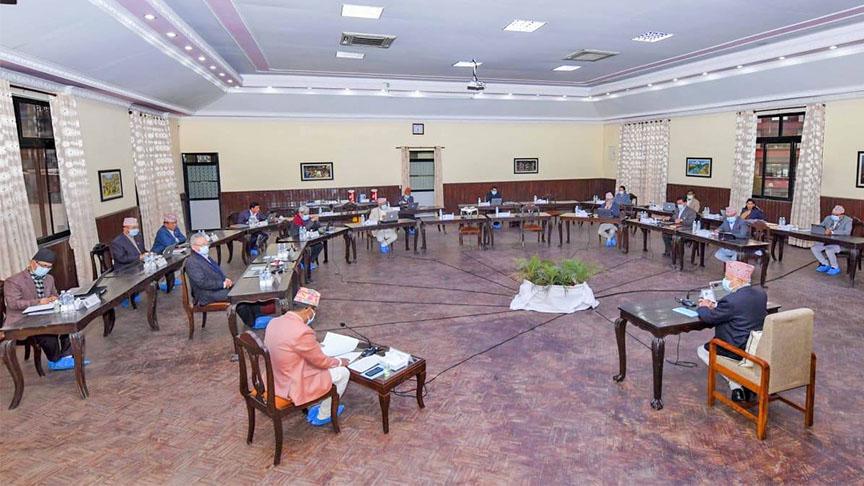 फागुन २३ गते संसद अधिवेशन आह्वान गर्न राष्ट्रपतिसमक्ष सिफारिस