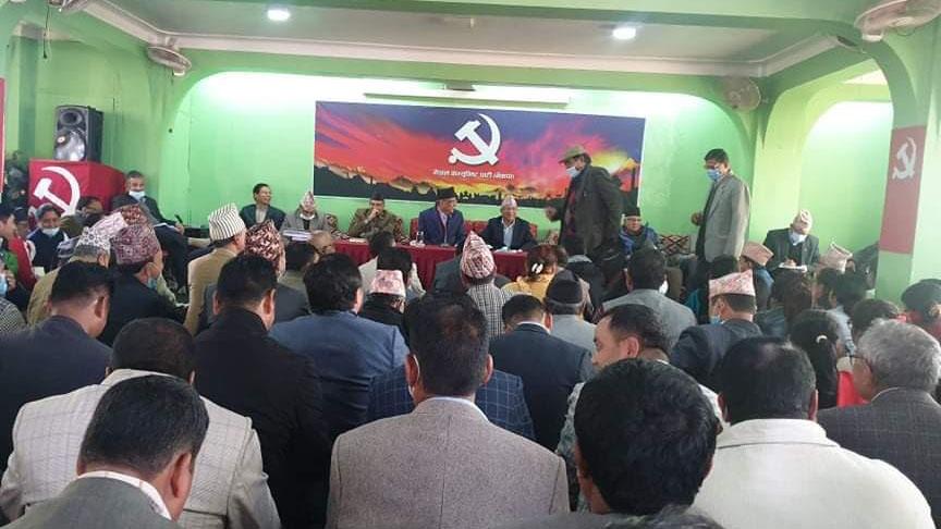 संसदीय दलको नेताबाट केपी शर्मा ओलीलाई हटाइयो, नेम्वाङ र वास्कोटालाई पनि कारवाही