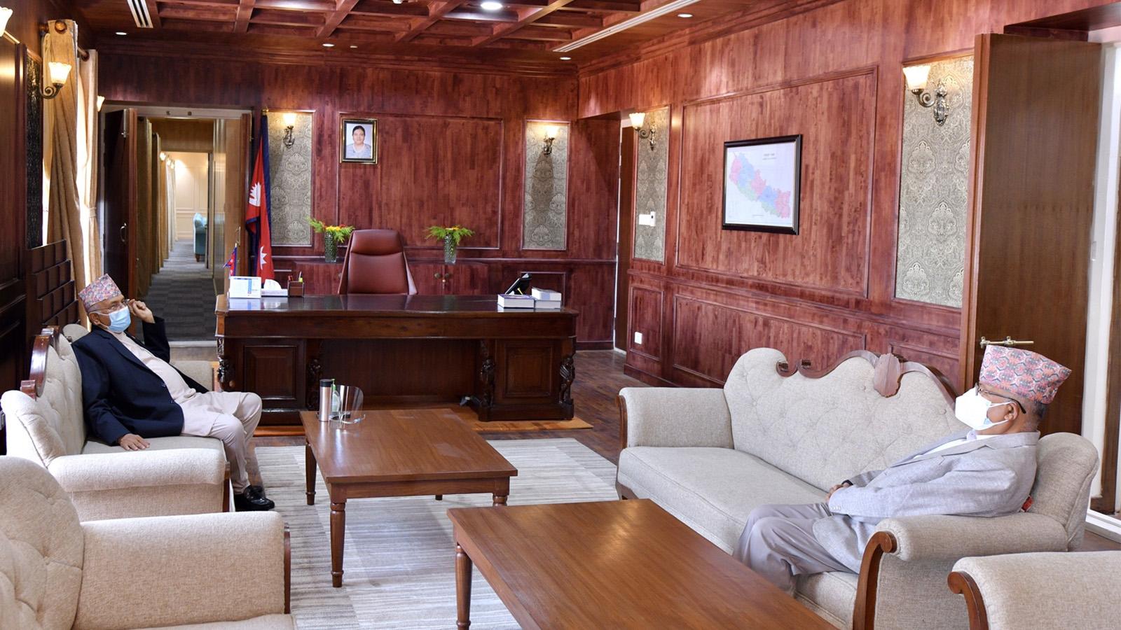 ओली–नेपाल वार्ता सकियो, नेम्वाङ र रावलको संयोजकत्वमा वार्ता समिति गठन