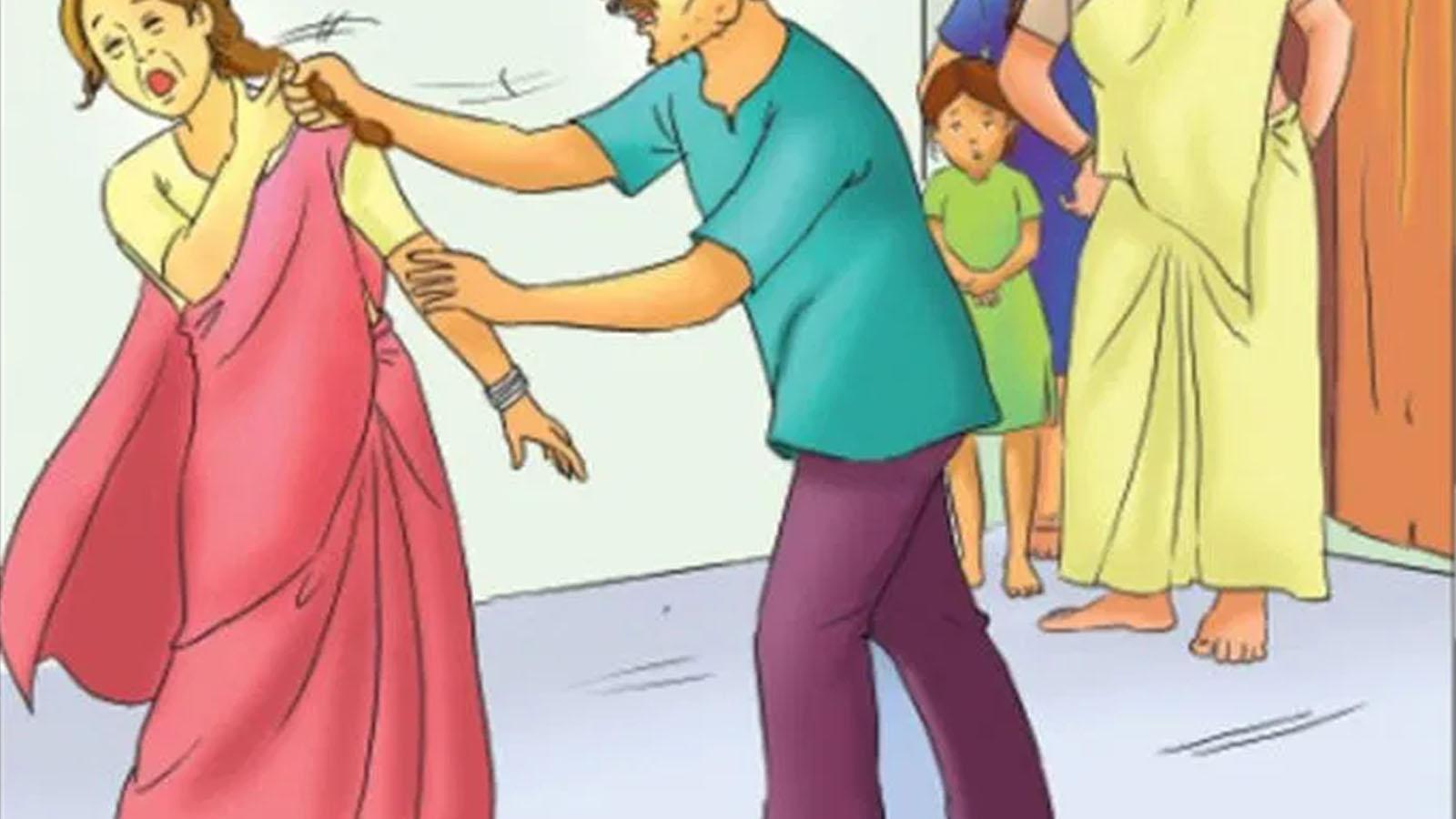 दाइजोमा ग्याँस चुलो नल्याएपछि वेहुलीमाथि निर्घात कुटपिट