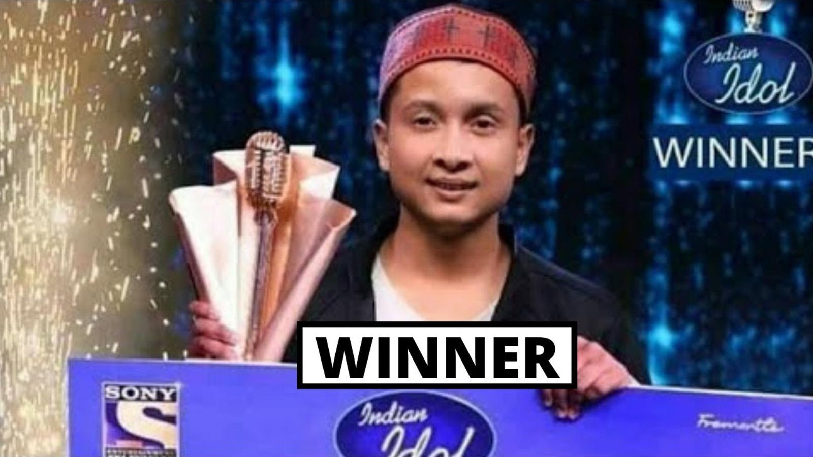 पवनदीप राजन भए 'इन्डियन आइडल १२' को विजेता