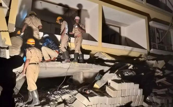 भारतको बैंगलोरमा भवन भासिँदा तीन नेपालीको मृत्यु