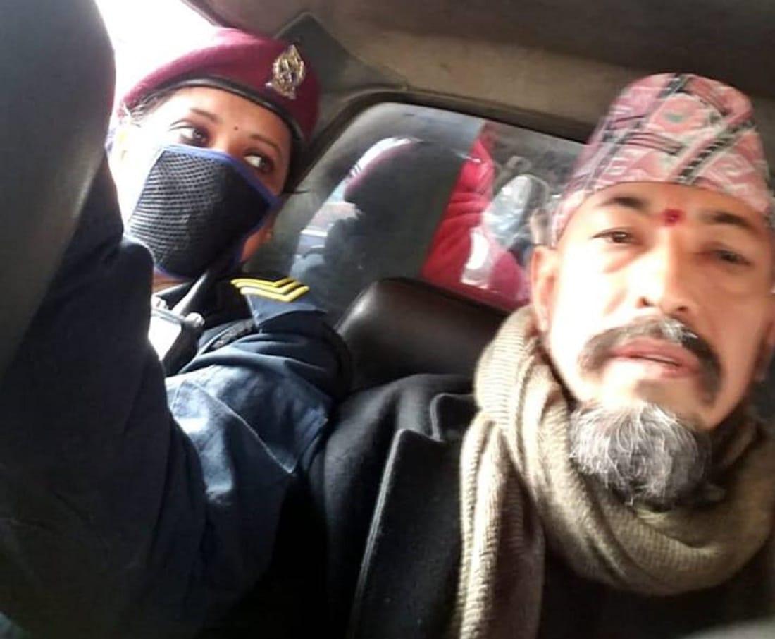 इन्द्रजात्रामा राष्ट्रपति,प्रधानमन्त्रीविरुद्ध प्रदर्शनको तयारीमा रहेका शिव सेनाका कार्यकर्ता पक्राउ