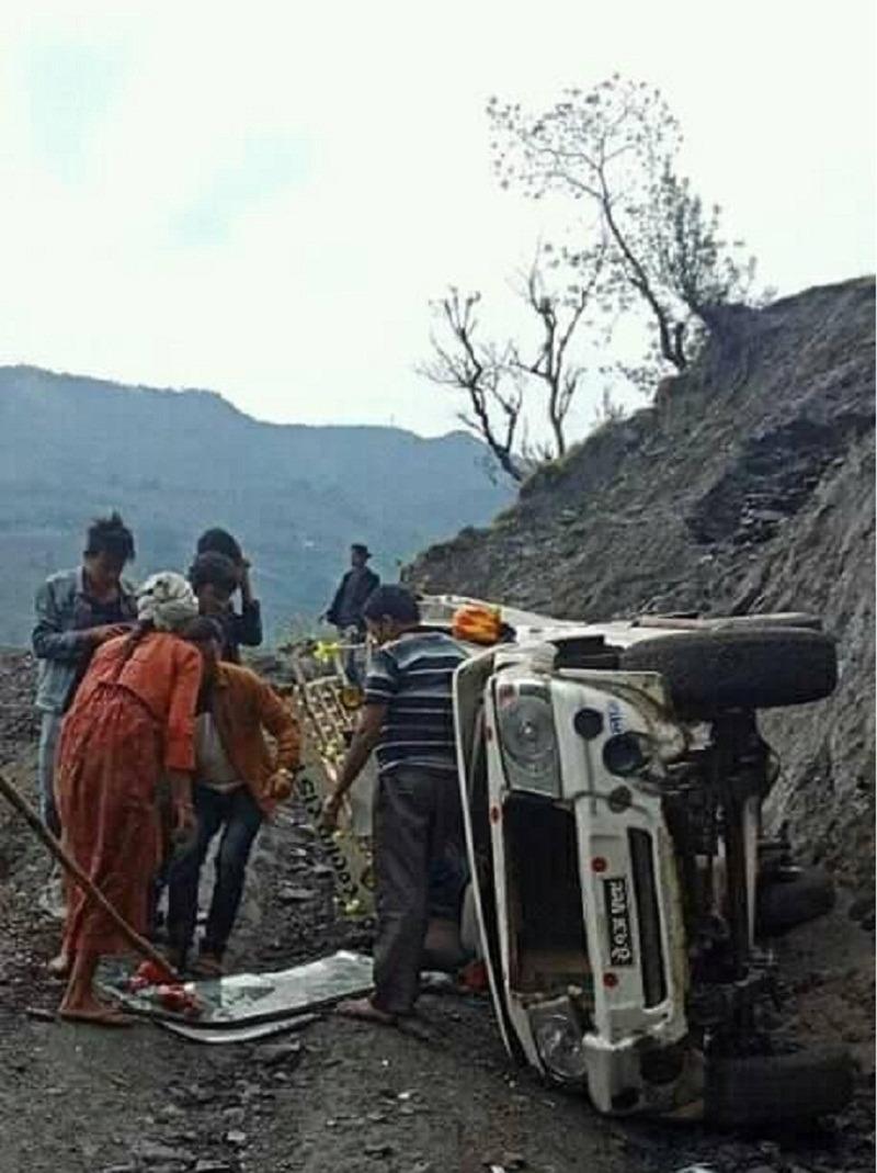 बझाङमा जीप दुर्घटना, ९ जनाको मृत्यु