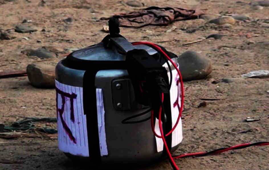 मेयरको घरमा प्रेसर कुकर बम फेला
