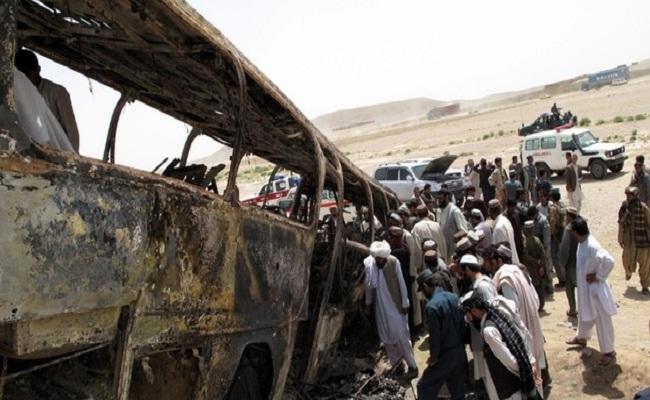 अफगानिस्तानमा बारुदी सुरुङ विष्फोट, ३४ जनाको मृत्यु