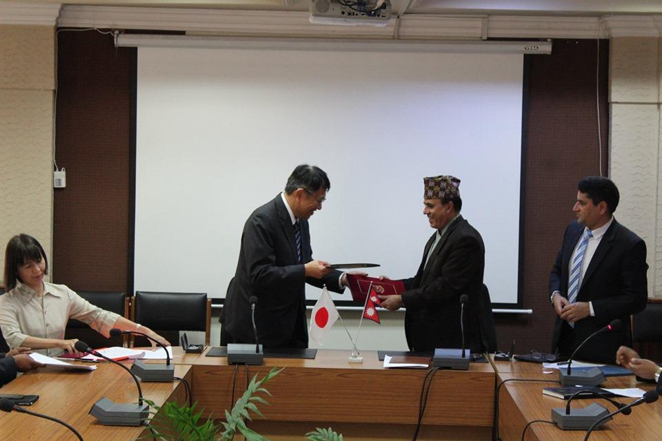जापानबाट ६३ करोड ९९ लाख अनुदान सहयोग