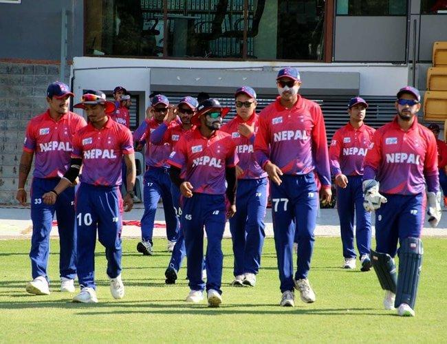 टी–२० क्रिकेट सिरिज खेल्न नेपाली टिम ओमान जाँदै