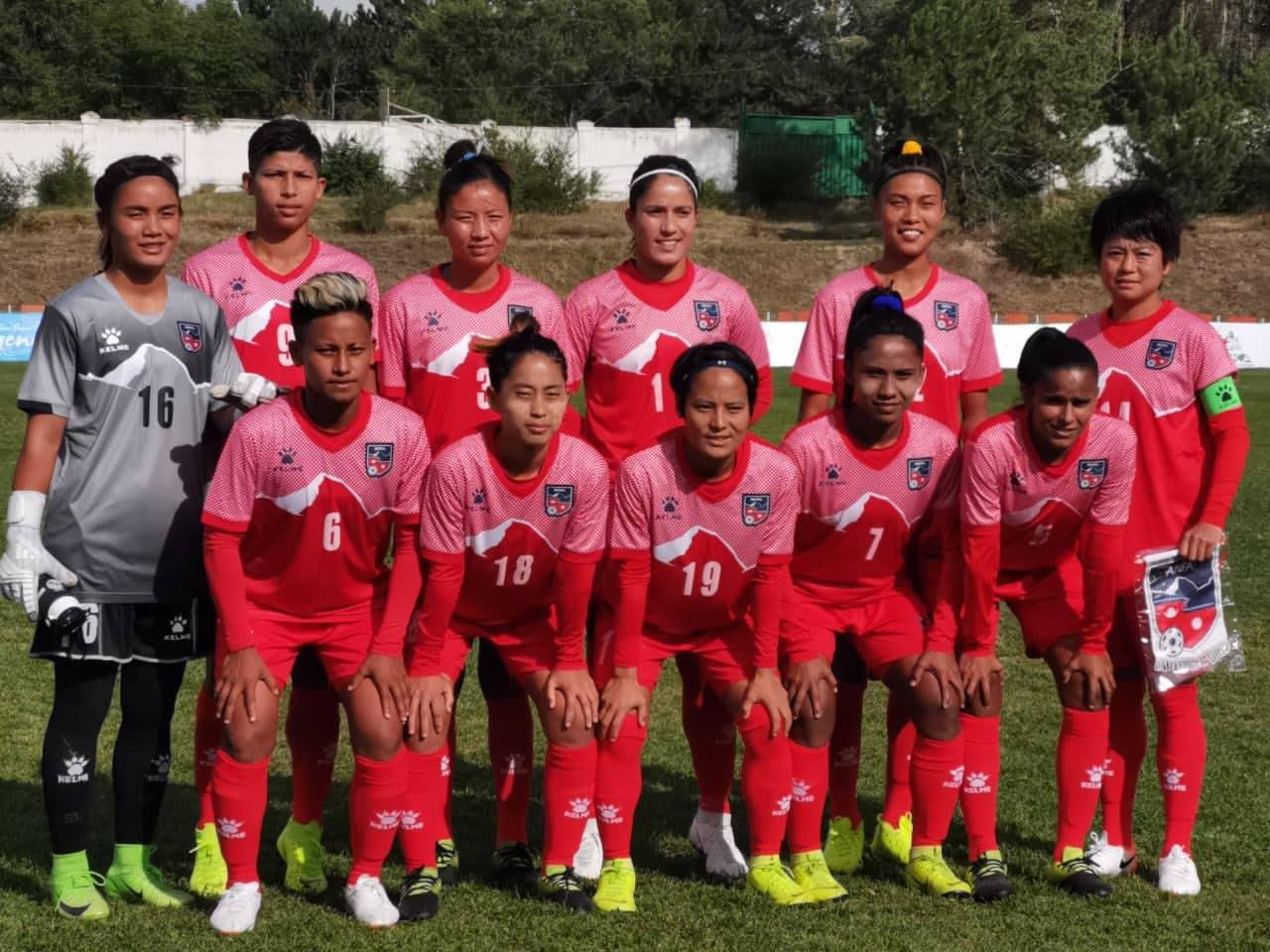 नादेज्दा कप फुटबल :नेपाल उज्वेकिस्तानसँग पराजित