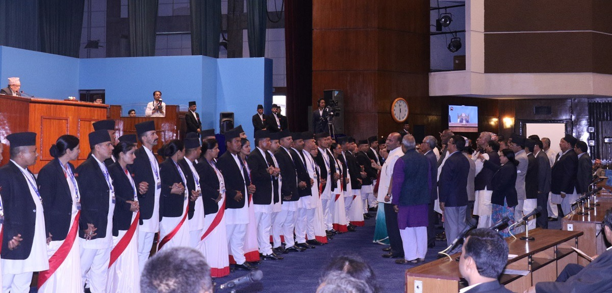 कांग्रेस–नेकपा सांसद आरोप–प्रत्यारोपमा, संसद बैठक स्थगित