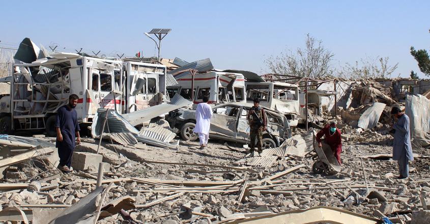 अफगानिस्तानमा विष्फोट :२० जना मारिए