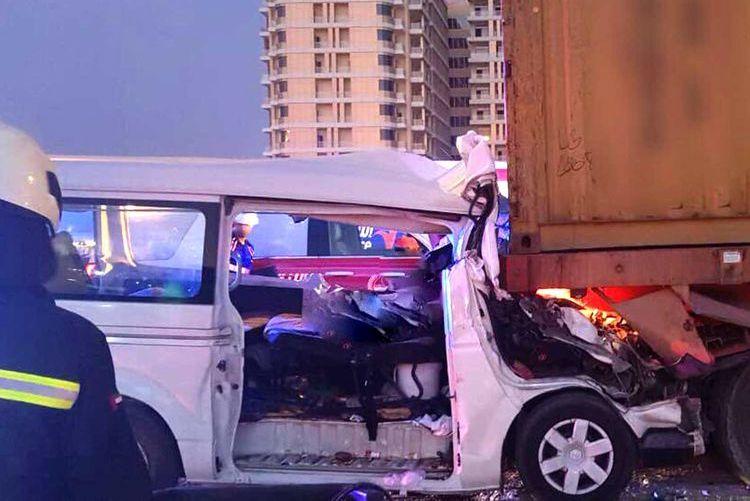 दुबईमा सडक दुर्घटनामा परी ६ नेपालीसहित ८ को मृत्यु, ६ घाइते