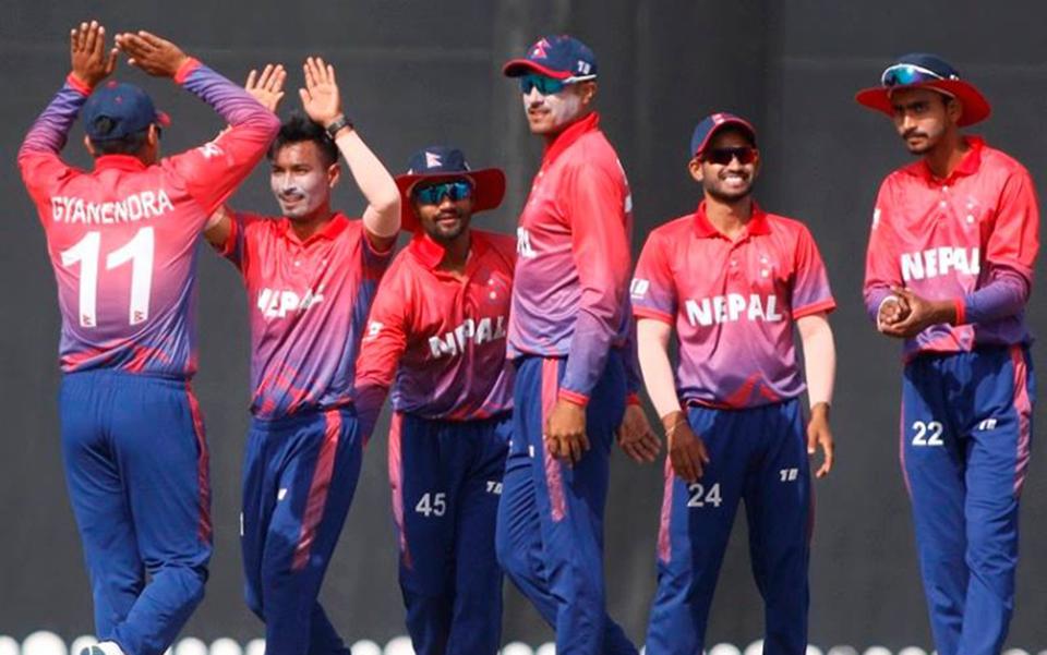 साग क्रिकेटः टेष्ट राष्ट्र श्रीलंकासँग खेल्दै नेपाल