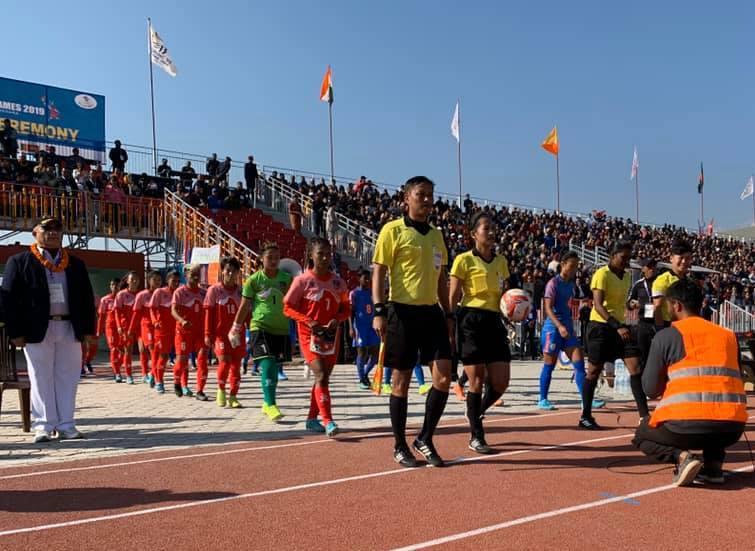 साग महिला फुटबल :फाइनलमा नेपालले भारतसँग खेल्ने