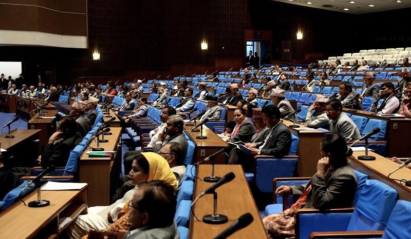 नयाँ नक्सा अनुसारको निशान छाप परिवर्तनका लागि संसद्मा संविधान संशोधन प्रस्ताव दर्ता