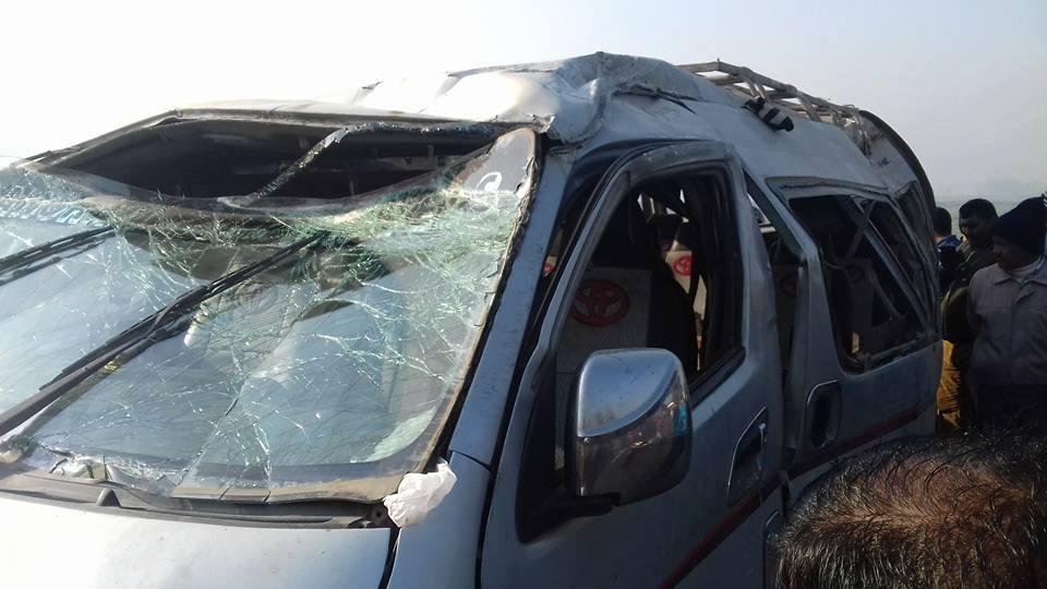 सिन्धुलीमा माइक्रोबस दुर्घटनाः २० जना घाइते, चालकको मृत्यु