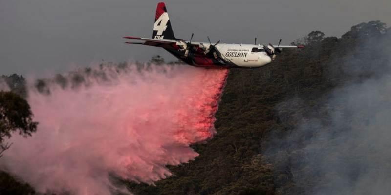 अष्ट्रेलियामा अग्नि नियन्त्रक चढेको विमान दुर्घटना
