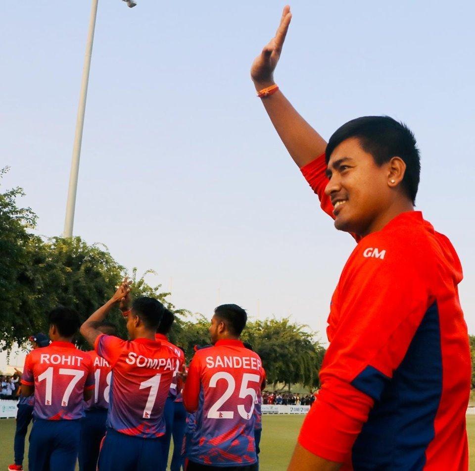 मैत्रीपूर्ण खेलः नेपालद्वारा मलेसियालाई २९१ रनको लक्ष्य