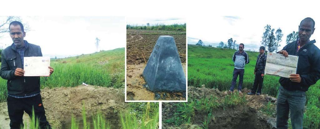 सरकारले लालपुर्जा दिएको जमिन भारतमा, सर्भे टोलीप्रति स्थानीय आक्रोशित