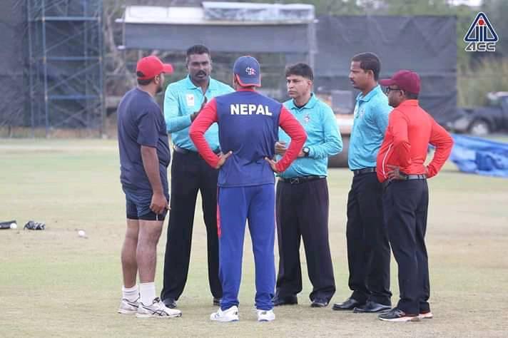 नेपाल र सिंगापुरबीचको खेल रद्द