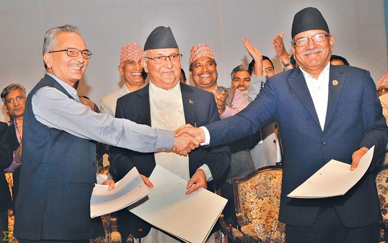 प्रधानमन्त्री केपी शर्मा ओलीद्वारा बाबुराम भट्टराईलाई पार्टी एकता र सहकार्यको प्रस्ताव