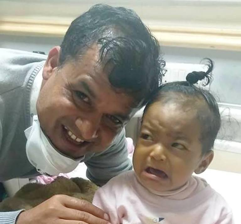 केसीले गरे नौ महिनाकी बालिकालाई कलेजो दान